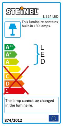 L 224 LED Anthracite