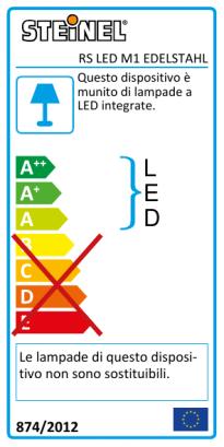 RS LED M1 Acciaio inox