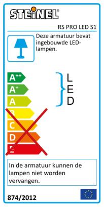 RS PRO LED S1 Polycarbonaat neutraal wit
