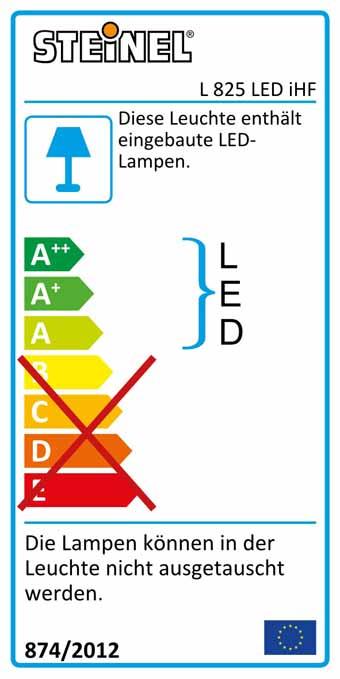 L 825 LED iHF anthrazit anthrazit