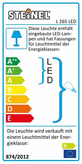 L 265 LED silber silber