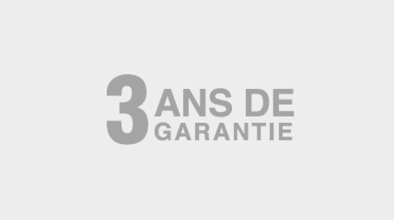 3 ans de garantie