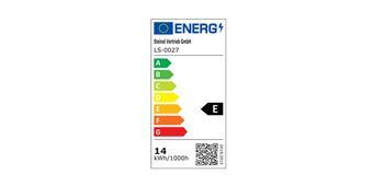 Beispiel eines EU Labels gültig ab 1. September 2021