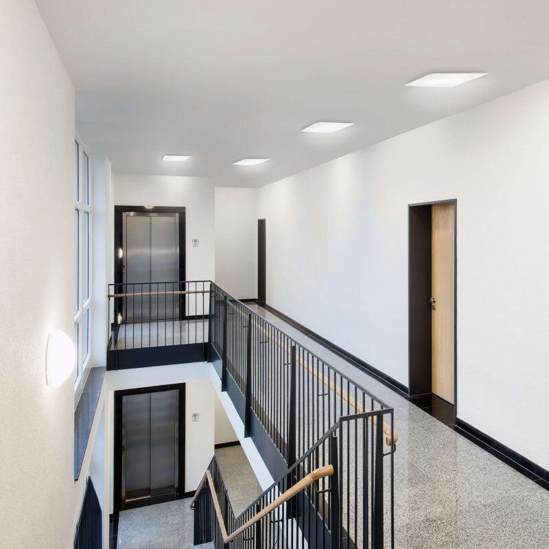 Treppenaufgang zum 2. Stockwerk