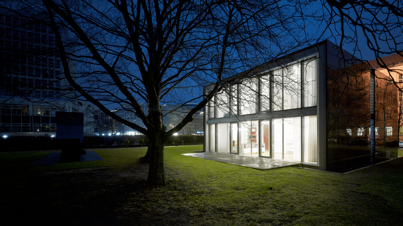 Energiehaus von außen