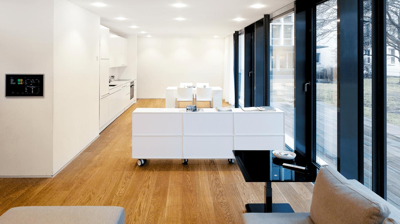 Küchenbereich im Energiehaus