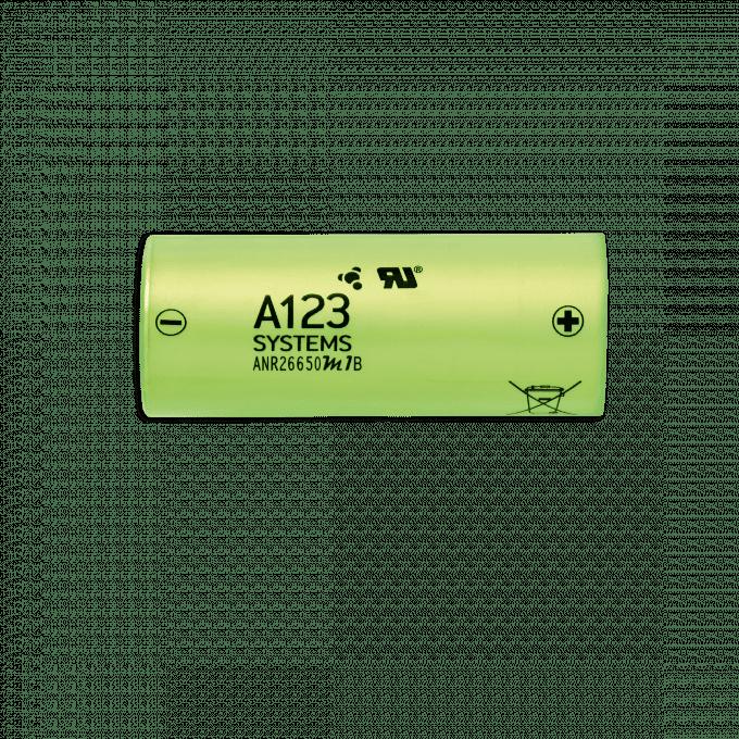 Lithium-Ferrum-Akku der Solarleuchte