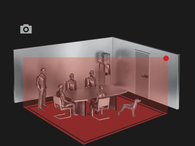 virtuelle Darstellung von Kamerasensorik