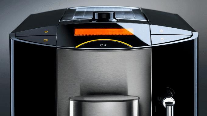 Bedienfeld einer Kaffeemaschine