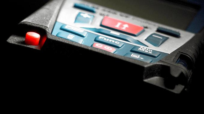 Detailbild Laser-Entfernungs-Messgerät