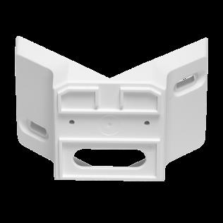 Eckwandhalter 01 weiß weiß