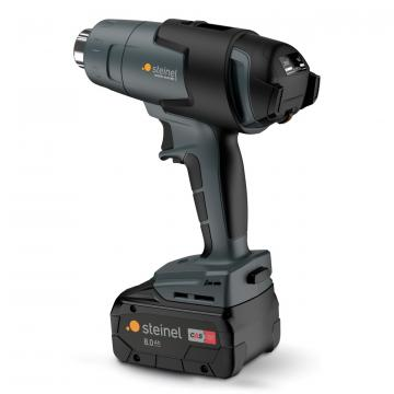 mobile heat MH3 including rechargeable 8.0Ah battery and charger