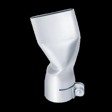 Ugello angolare piatto da 40x2 mm