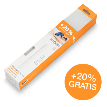 Glue sticks, Ø 11 mm Ultra-Power 20 ea. (600 g)