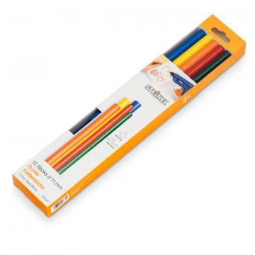 Color sticks Ø 11 mm 10 ea. (250 g)