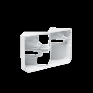 Eckwandhalter XLED home 2 weiß