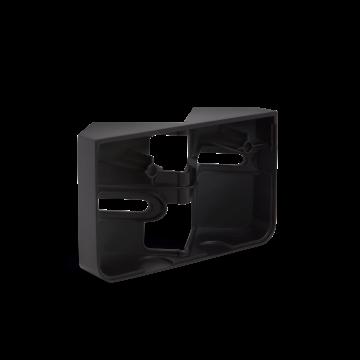 Eckwandhalter XLED home 2 schwarz