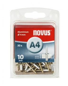 A 4 x 10 mm aluminium 30 stk.