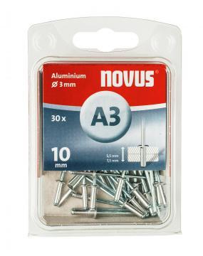 A 3 x 10 mm aluminium 30 stk.