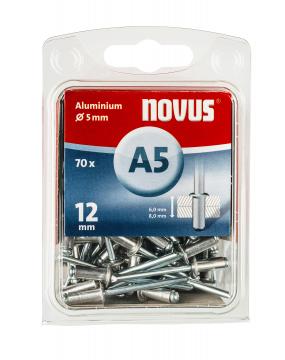 A 5 x 12 mm Aluminium 70 Stück