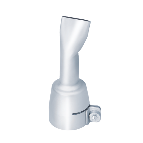 Flat angled nozzle 20x2 mm - angled
