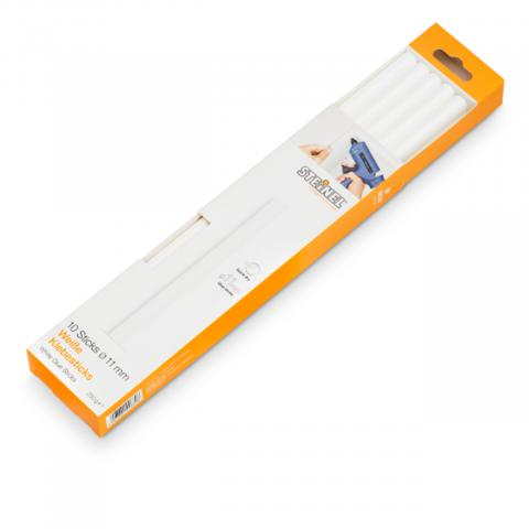 Klebesticks Ø 11 mm weiß 10 Stk. (250 g)