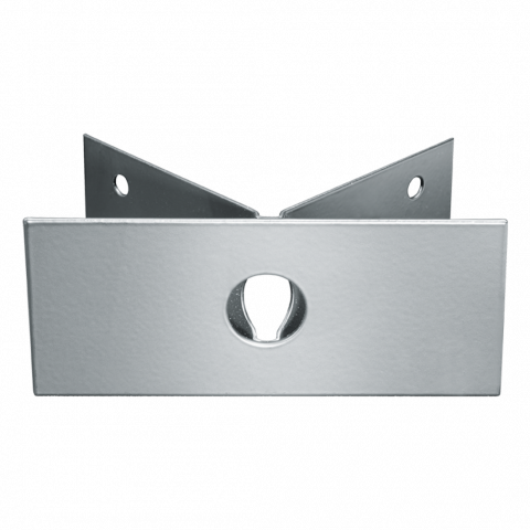 Corner wall mount 03 white