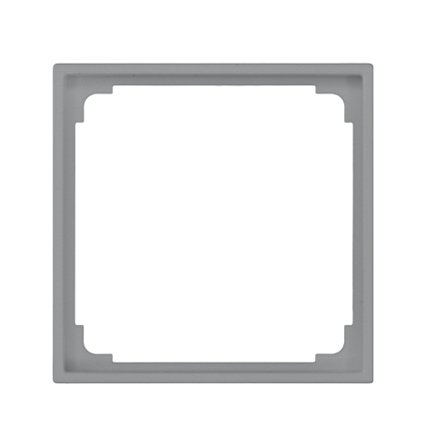 Adapterraam voor IR/HF 180 Jung - zilver