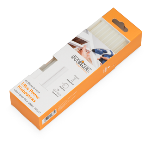 Glue sticks, Ø 7 mm Ultra-Power 40 ea. (240 g)