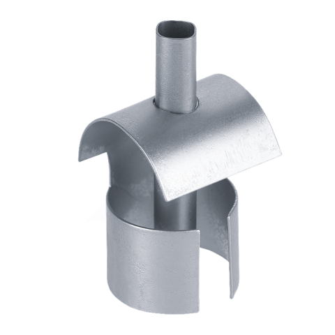 Reduction nozzle with reflector guard