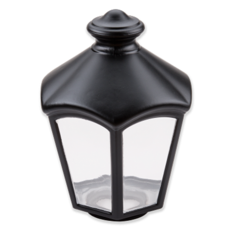 Replacement glass shade for L 562 S black