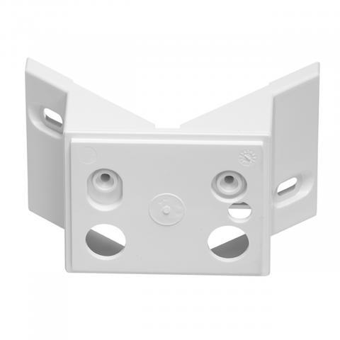 Eckwandhalter LS 150 LED weiß