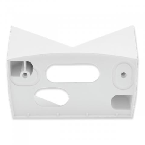 Corner wall mount 07 white