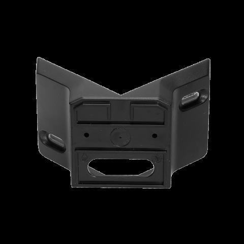 Corner wall mount 01 black