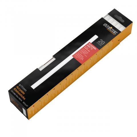 Acrylaat lijmpatronen Ø 11 mm 20 st. (600 g)