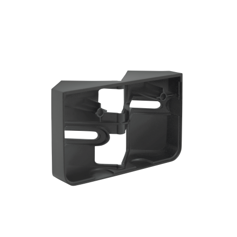 Corner wall mount XLED home 2 graphite