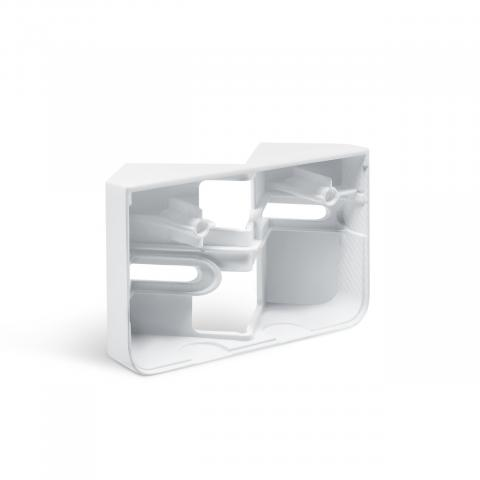 Corner wall mount XLED home 2 white
