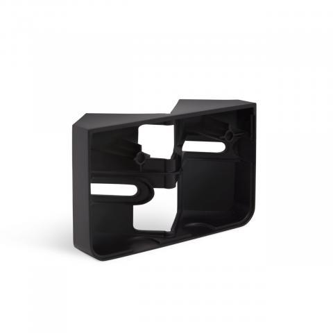 Corner wall mount XLED home 2 black