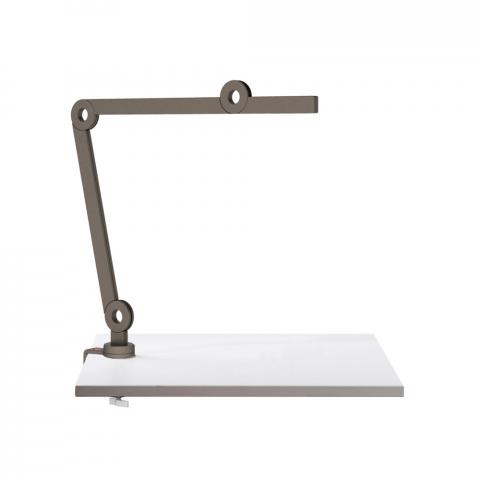 Lampada da tavolo MOOOVE con morsetto 46,6 cm