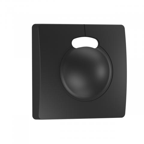 Black cover for HF 3360 concealed, sq.