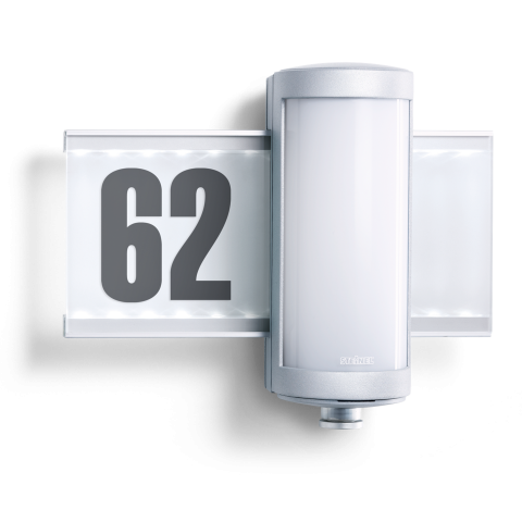 L 625 LED aluminium zilver