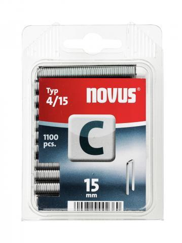 C Type 4/15 mm galvanized 1100 pcs.