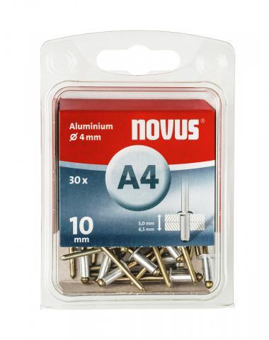 A 4 x 10 mm aluminium 30 ea.