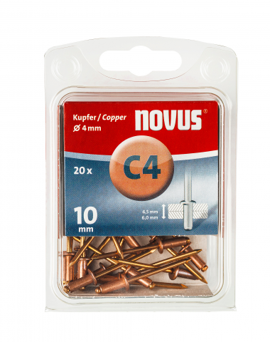 A 4 x 10 mm copper 20 pcs.