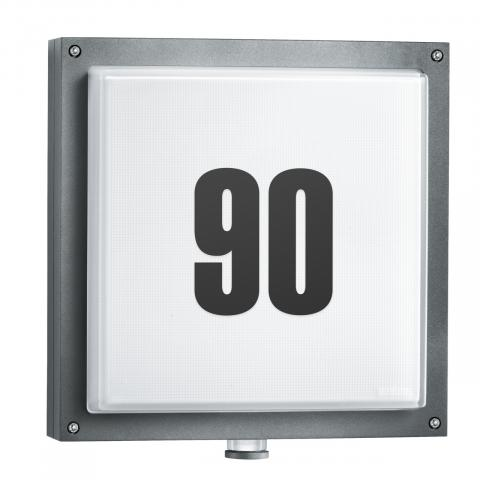 L 690 LED PMMA antraciet