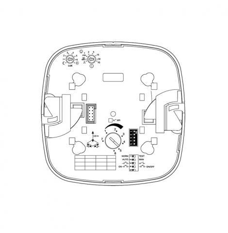 IR Quattro HD COM1 - opbouw wit
