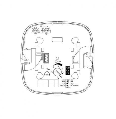 Dual HF COM1 - Inbouw