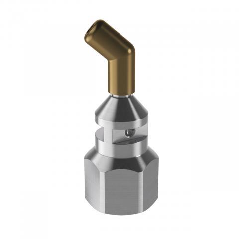 Long nozzle, angled, Ø 3.0 mm
