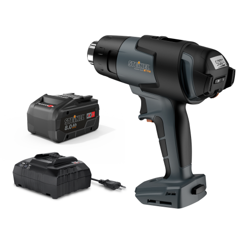 mobile heat MH 5 including rechargeable battery and charger