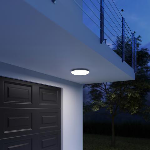DL Vario Quattro PRO LED warmweiß anthrazit